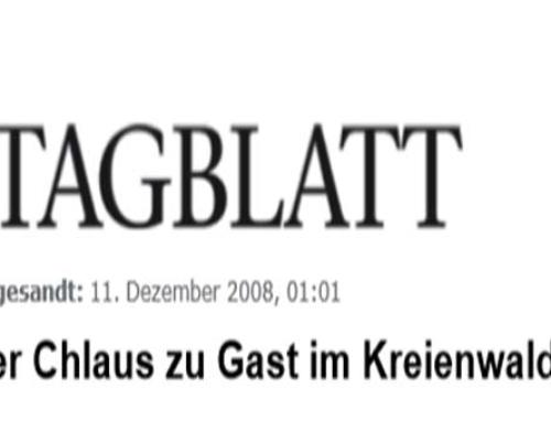 Der Chlaus zu Gast im Kreienwald 2008