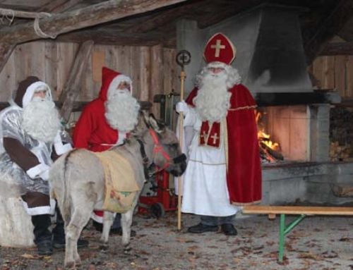 Der Samichlaus im Kreienwald