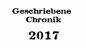 Geschriebene Chronik...