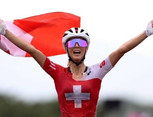 Empfang für Olympiasiegerin Jolanda Neff